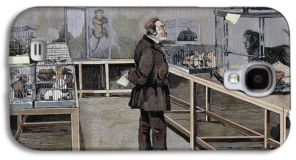 Louis Pasteur (1822-1895 Galaxy S4 Case by Prisma Archivo