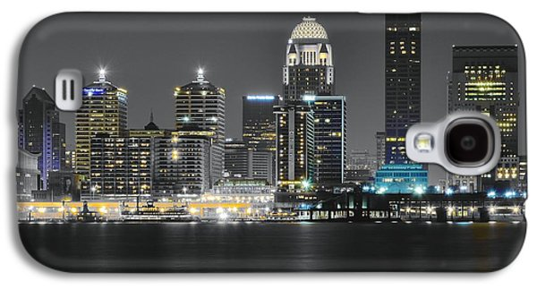 Night Lights Of Louisville Galaxy S4 Case