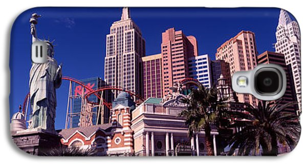 Low Angle View Of A Hotel, New York New Galaxy S4 Case by Panoramic Images