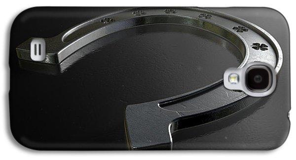 Lucky Shamrock Horseshoe Galaxy S4 Case by Allan Swart