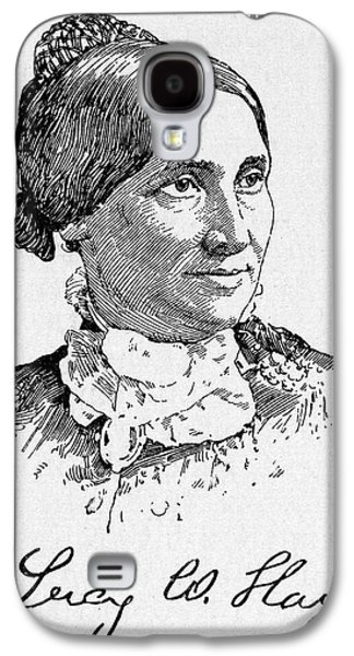 Lucy Hayes (1831-1889) Galaxy S4 Case by Granger
