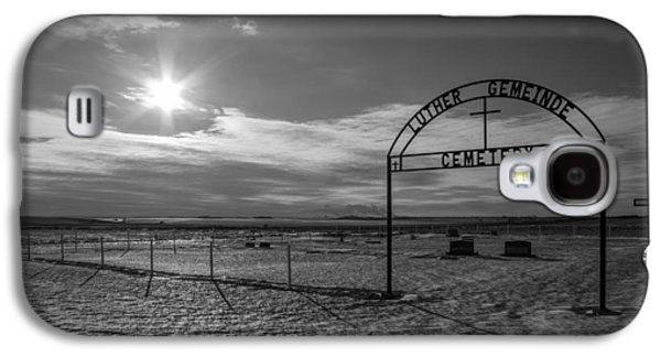 Luther Gemeinde Cemetery Galaxy S4 Case by Chad Rowe