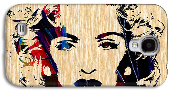 Madonna Collection Galaxy S4 Case by Marvin Blaine
