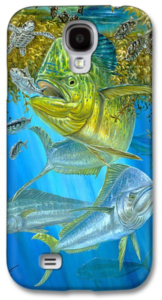 Mahi Mahi Hunting In Sargassum Galaxy S4 Case