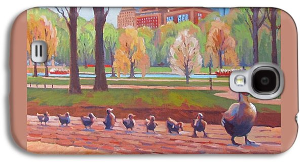 Boston Galaxy S4 Case - Make Way For Ducklings by Dianne Panarelli Miller