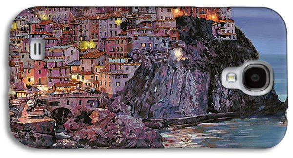 Manarola At Dusk Galaxy S4 Case by Guido Borelli