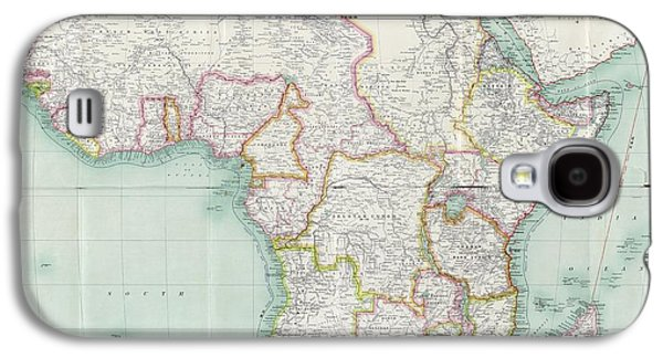 Map Of Africa Galaxy S4 Case