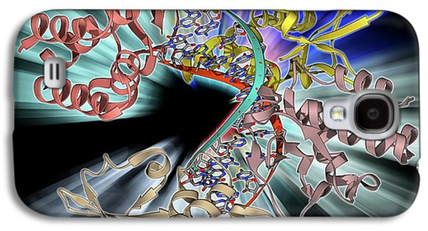 Marburg Viral Protein 35 And Rna Galaxy S4 Case by Laguna Design