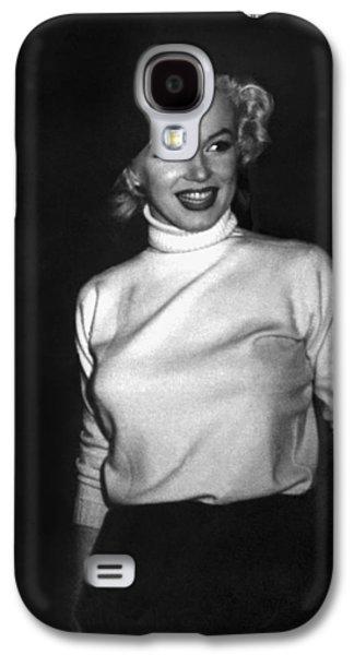 Marilyn Monroe In Korea Galaxy S4 Case by Underwood Archives