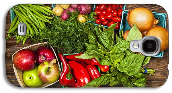 Market Fruits And Vegetables Galaxy S4 Case by Elena Elisseeva