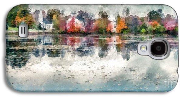Marlow New Hampshire Galaxy S4 Case by Edward Fielding
