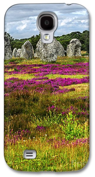 Megalithic Monuments In Brittany Galaxy S4 Case by Elena Elisseeva