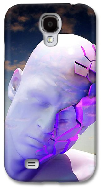 Mental Health Degeneration Galaxy S4 Case by Tim Vernon