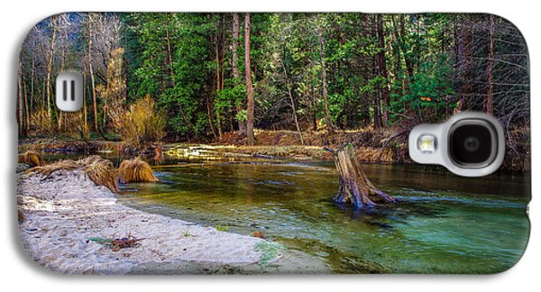 Merced River Yosemite National Park Galaxy S4 Case by Scott McGuire
