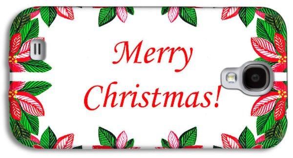 Merry Christmas Galaxy S4 Case