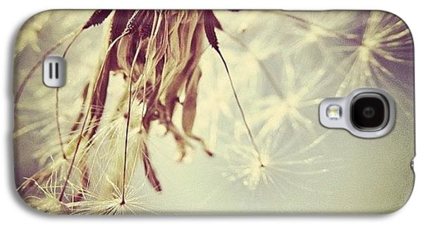 Sky Galaxy S4 Case - #mgmarts #dandelion #makeawish #wish by Marianna Mills