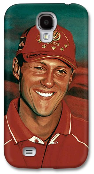 Michael Schumacher Galaxy S4 Case by Paul Meijering