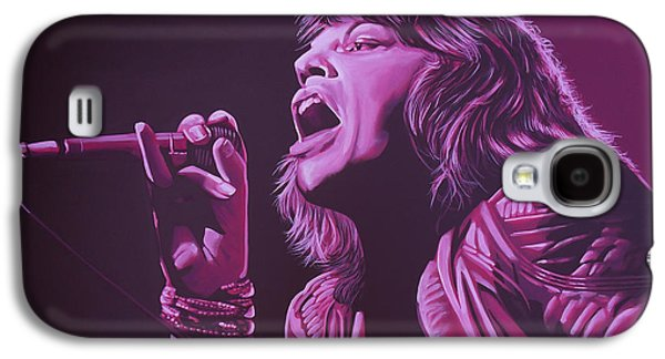 Mick Jagger 2 Galaxy S4 Case by Paul Meijering
