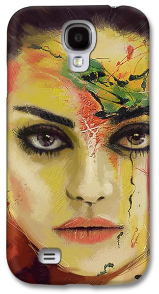 Mila Kunis  Galaxy S4 Case by Corporate Art Task Force