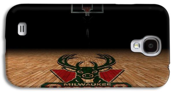 Milwaukee Bucks Galaxy S4 Case by Joe Hamilton