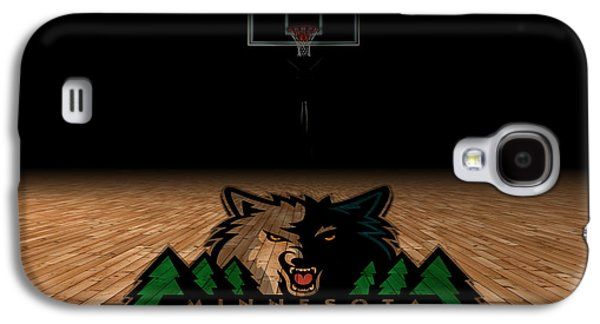 Minnesota Timberwolves Galaxy S4 Case by Joe Hamilton