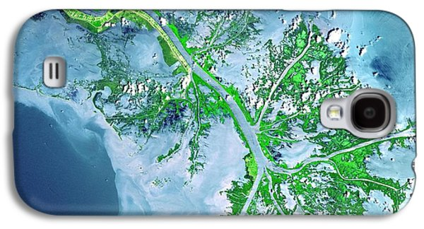 Mississippi River Delta Galaxy S4 Case by Celestial Images