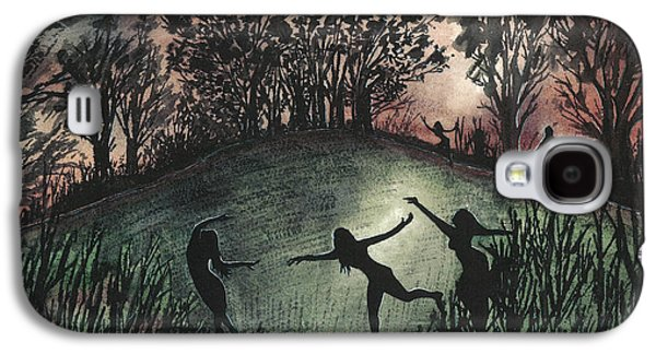 Moonlight Dance Galaxy S4 Case by Emma Childs