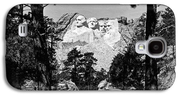 Mount Rushmore In South Dakota Galaxy S4 Case by Underwood Archives
