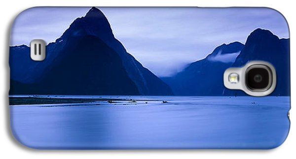 Mountains At Dawn, South Island, New Galaxy S4 Case by Panoramic Images
