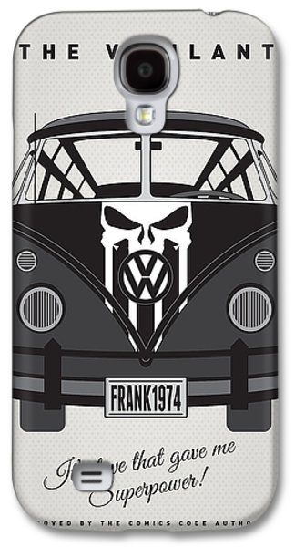 My Superhero-vw-t1-punisher Galaxy S4 Case