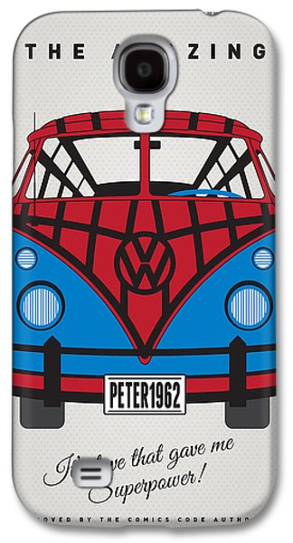 My Superhero-vw-t1-spiderman Galaxy S4 Case