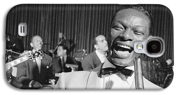 Nat King Cole 1954 Galaxy S4 Case by The Harrington Collection