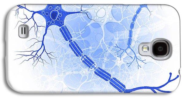 Nerve Cell Galaxy S4 Case by Pixologicstudio