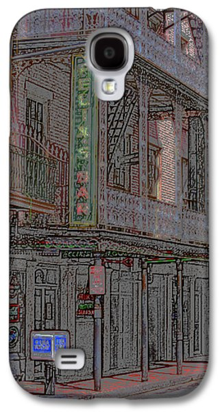 New Orleans - Bourbon Street With Pencil Effect Galaxy S4 Case