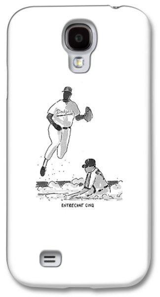 New Yorker July 19th, 1993 Galaxy S4 Case by Michael Crawford