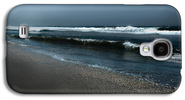 Night Beach  Galaxy S4 Case by Artist and Photographer Laura Wrede