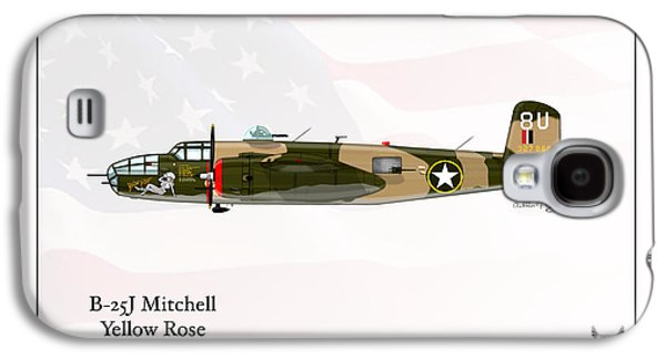 North American B-25j Mitchell Galaxy S4 Case