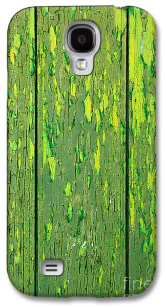 Old Wooden Background Galaxy S4 Case