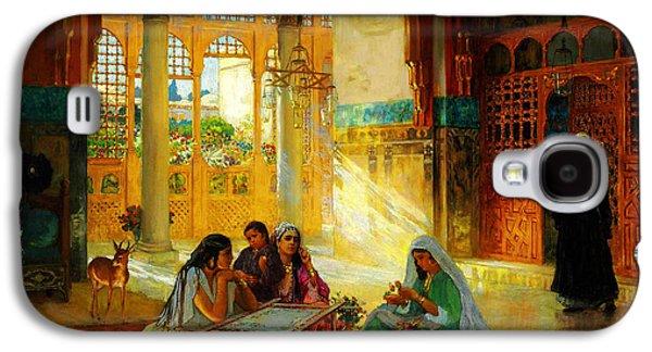 Ottoman Daily Life Scene Galaxy S4 Case