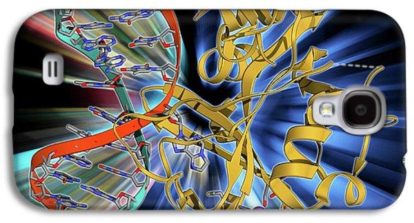 Oxoguanine Glycosylase Complex Galaxy S4 Case by Laguna Design