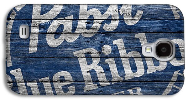 Pabst Blue Ribbon Galaxy S4 Case by Joe Hamilton