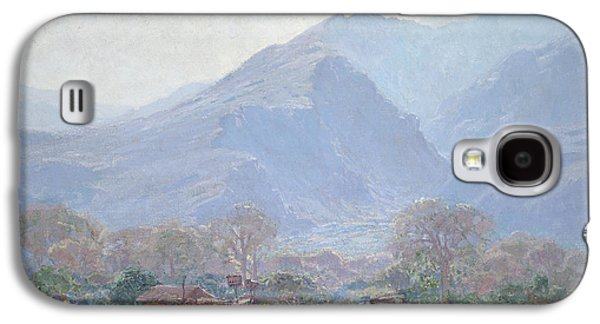 Palm Springs Landscape With Shack Galaxy S4 Case by John Frost