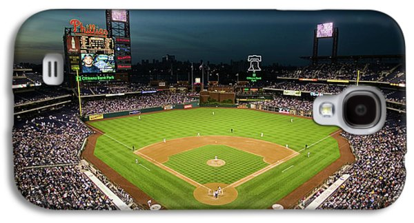 Panoramic View Of 29,183 Baseball Fans Galaxy S4 Case