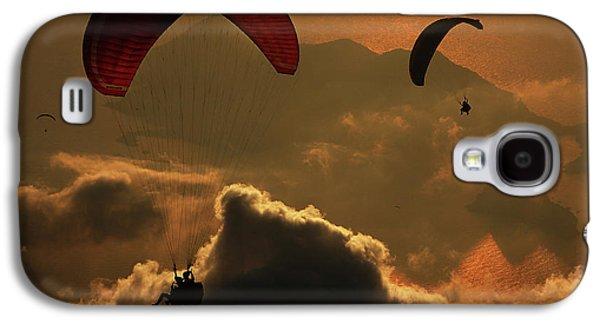 Paragliding Galaxy S4 Case