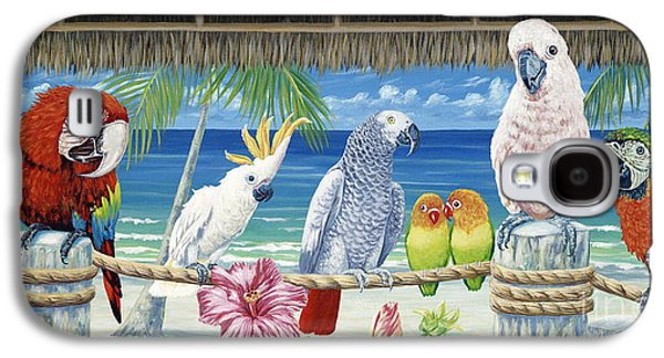 Parrots In Paradise Galaxy S4 Case