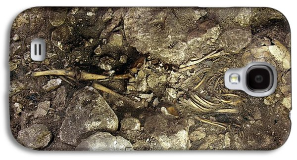 Partially Excavated Human Fossil Galaxy S4 Case by Javier Trueba/msf
