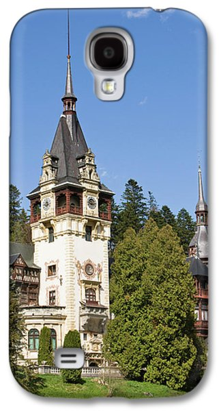 Peles Castle, Sinaia, Carpathian Galaxy S4 Case