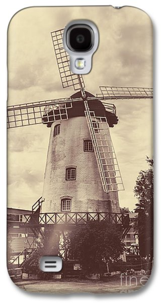 Penny Royal Windmill In Launceston Tasmania  Galaxy S4 Case by Jorgo Photography - Wall Art Gallery
