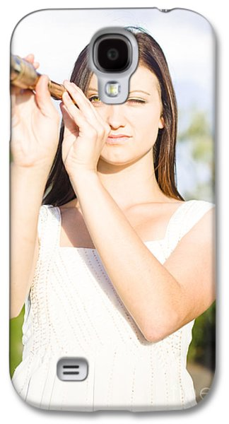 Person With Monocular Galaxy S4 Case by Jorgo Photography - Wall Art Gallery