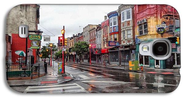 Philadelphia South Street 4 Galaxy S4 Case by Jack Paolini